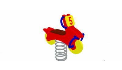 Гойдалка  на пружині «Мотоцикл»