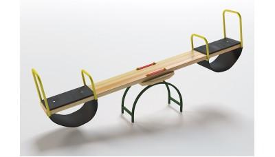 Качели-балансир деревянный