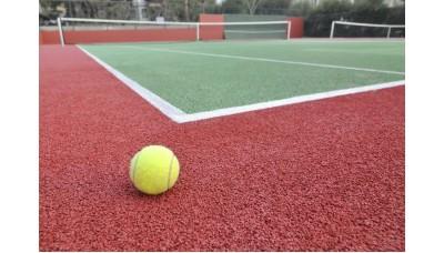 Бесшовное покрытие на основе резиновой крошки для спортивной площадки 10 мм