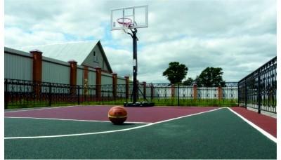 Бесшовное покрытие на основе резиновой крошки для спортивной площадки 20 мм