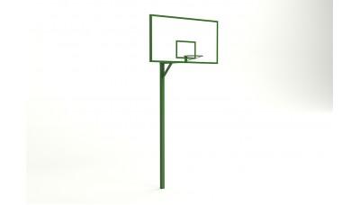 Баскетбольная стойка с фанерным щитом 1800*1050 мм