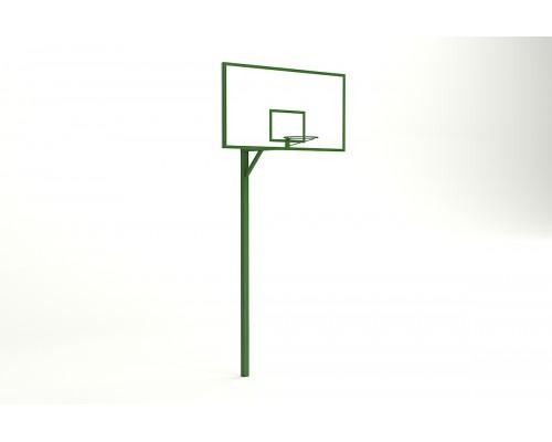 Баскетбольна стійка з фанерних щитків 1800 * 1050 мм
