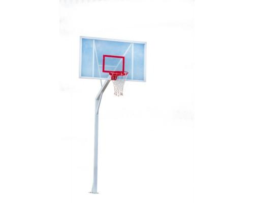 Баскетбольна стійка з акриловим щитом 1200 * 900 мм