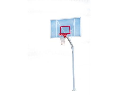Баскетбольна стійка з акриловим щитом 1800 * 1050 мм