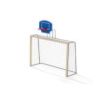 Ворота футбольные с баскетбольным щитом