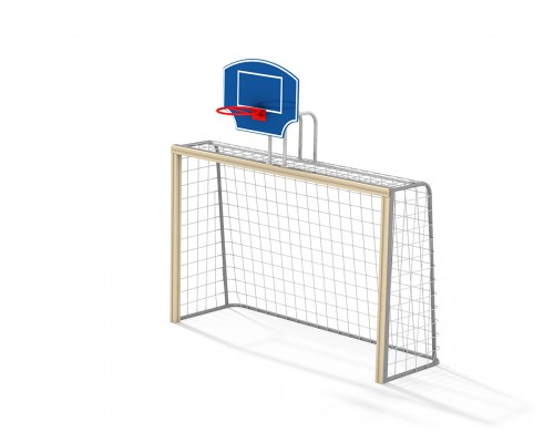 Ворота футбольні з баскетбольним щитом