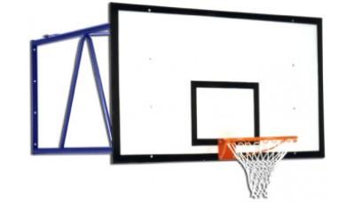 Щит баскетбольний з кріпленням до стіни