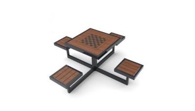 Ігровий стіл для шахмат та шашок