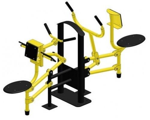 Тренажер для мышц бицепса Рычажная тяга