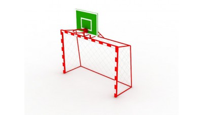 Ворота игровые футбольные детские